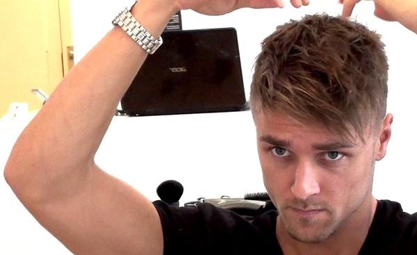 muska frizura sa šiškama