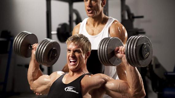 Vežbe za ramena u teretani i kod kuće